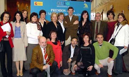Conchi ha recogido el premio AULA 2006
