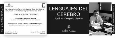 Presentación de libro de José María Delgado
