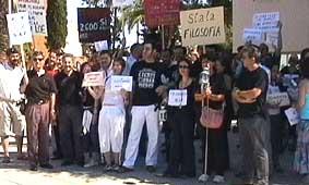 La concentración de Mérida.