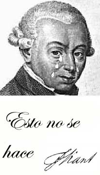 La opinión de Kant