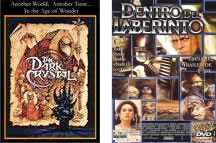 """""""Cristal Oscuro"""" y """"Dentro del Laberinto"""": Dos películas """"infantiles"""" para tratar diversas cuestiones."""
